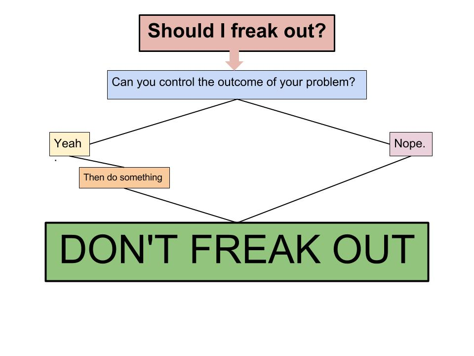 Your guide to freaking out, by Hard Dash